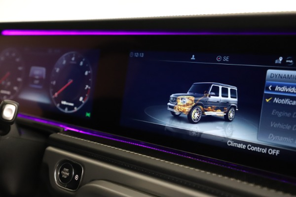 Used 2021 Mercedes-Benz G-Class AMG G 63 for sale $219,900 at Pagani of Greenwich in Greenwich CT 06830 24