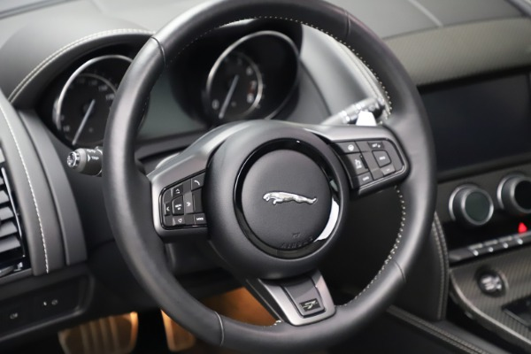 Used 2016 Jaguar F-TYPE Project 7 for sale $225,900 at Pagani of Greenwich in Greenwich CT 06830 27