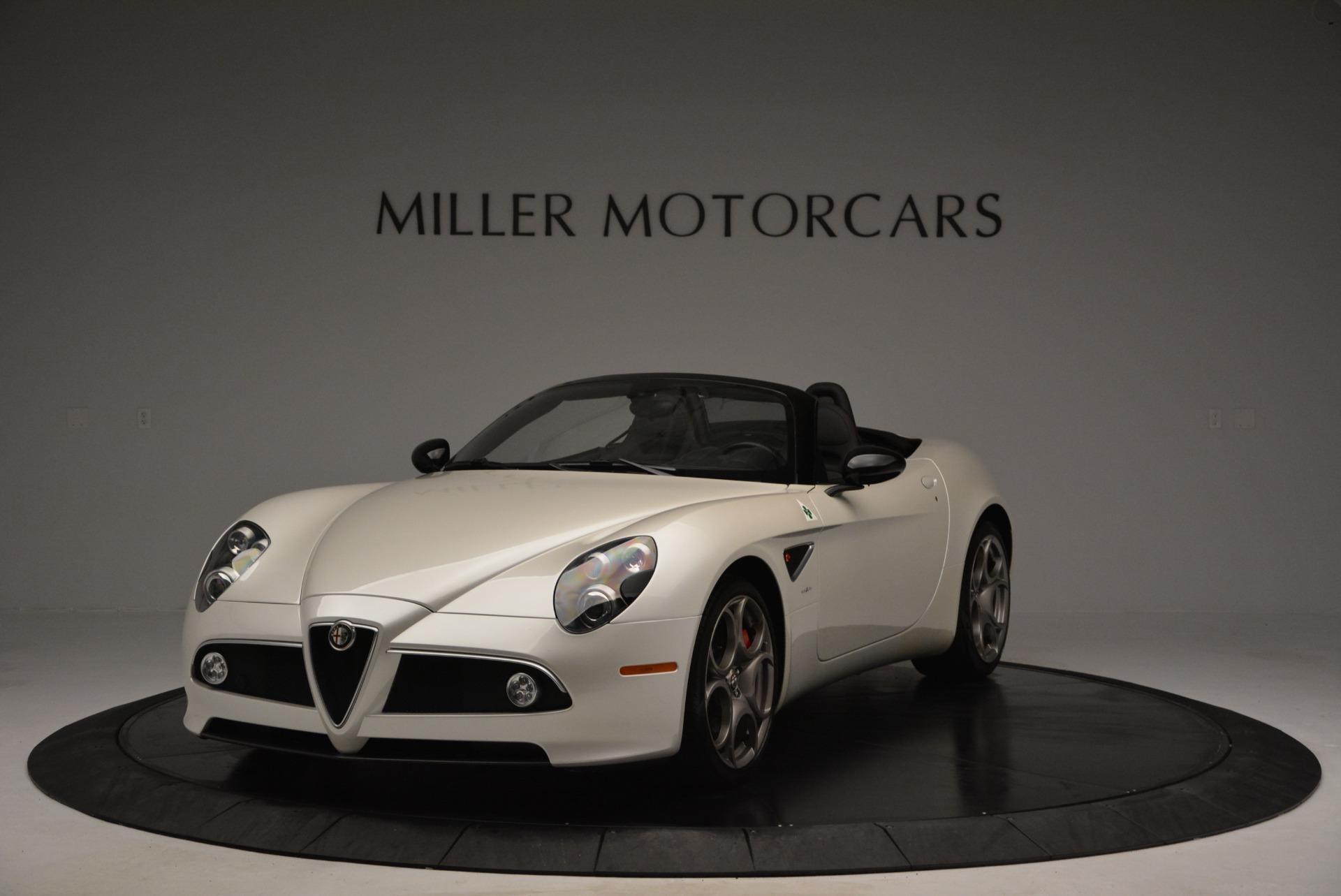 Used 2009 Alfa Romeo 8C Competizione Spider for sale $345,900 at Pagani of Greenwich in Greenwich CT 06830 1