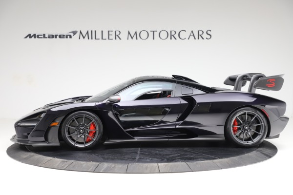 Used 2019 McLaren Senna for sale Call for price at Pagani of Greenwich in Greenwich CT 06830 2
