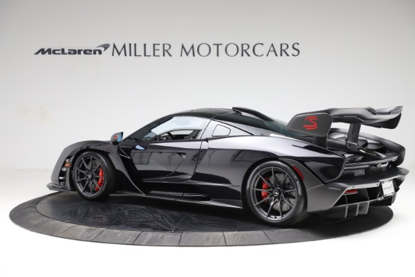 Used 2019 McLaren Senna for sale Call for price at Pagani of Greenwich in Greenwich CT 06830 3