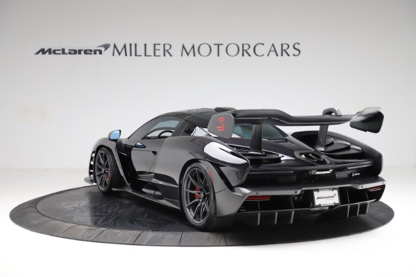 Used 2019 McLaren Senna for sale Call for price at Pagani of Greenwich in Greenwich CT 06830 4