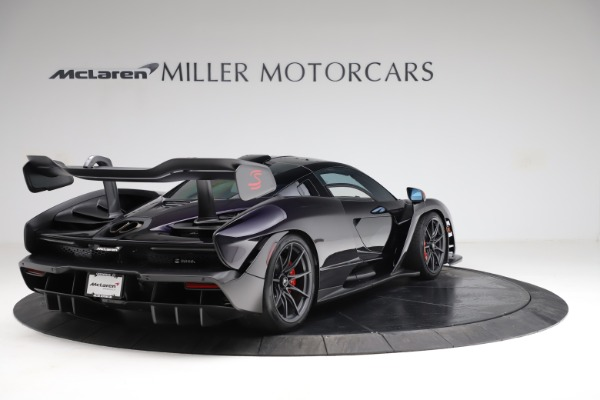 Used 2019 McLaren Senna for sale Call for price at Pagani of Greenwich in Greenwich CT 06830 6