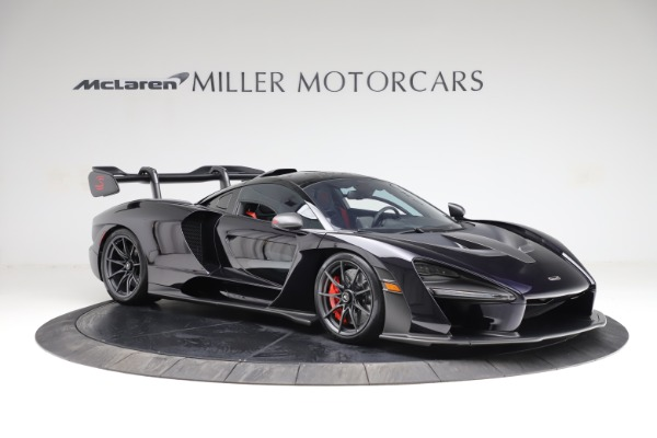 Used 2019 McLaren Senna for sale Call for price at Pagani of Greenwich in Greenwich CT 06830 9