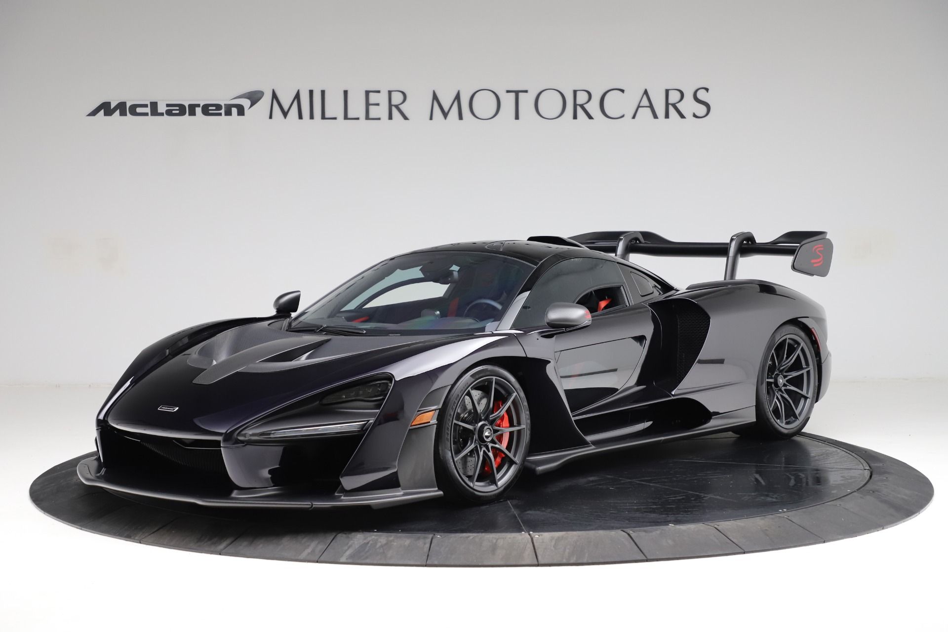 Used 2019 McLaren Senna for sale Call for price at Pagani of Greenwich in Greenwich CT 06830 1