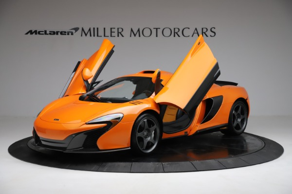 Used 2015 McLaren 650S LeMans for sale $269,990 at Pagani of Greenwich in Greenwich CT 06830 13