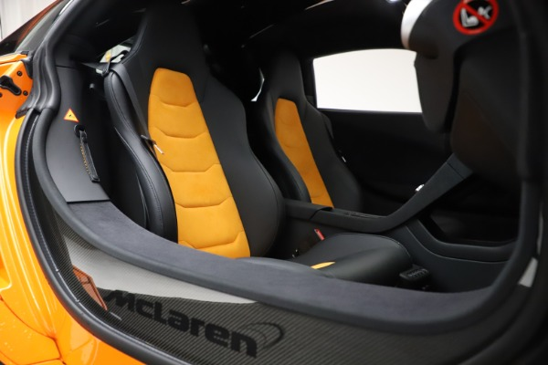 Used 2015 McLaren 650S LeMans for sale $269,990 at Pagani of Greenwich in Greenwich CT 06830 23