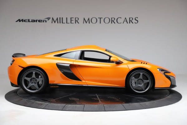 Used 2015 McLaren 650S LeMans for sale $269,990 at Pagani of Greenwich in Greenwich CT 06830 8