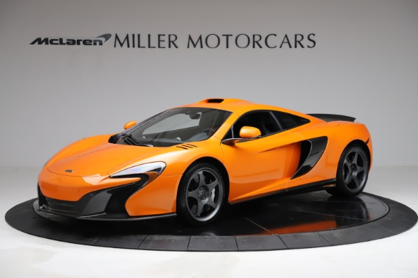 Used 2015 McLaren 650S LeMans for sale $269,990 at Pagani of Greenwich in Greenwich CT 06830 1