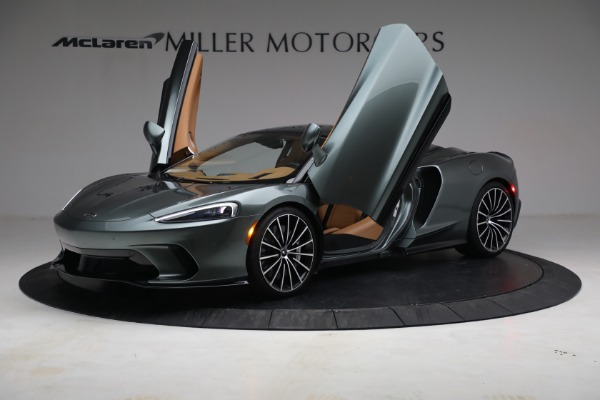Used 2021 McLaren GT LUXE for sale Call for price at Pagani of Greenwich in Greenwich CT 06830 14