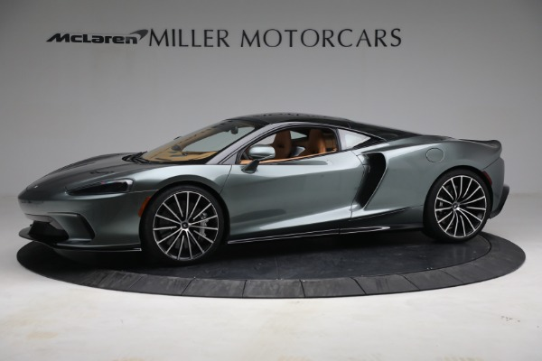 New 2021 McLaren GT LUXE for sale $214,005 at Pagani of Greenwich in Greenwich CT 06830 2