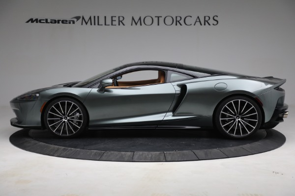 New 2021 McLaren GT LUXE for sale $214,005 at Pagani of Greenwich in Greenwich CT 06830 3