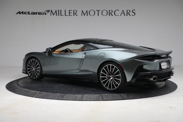 Used 2021 McLaren GT LUXE for sale Call for price at Pagani of Greenwich in Greenwich CT 06830 4