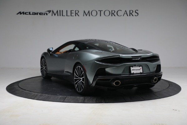 New 2021 McLaren GT LUXE for sale $214,005 at Pagani of Greenwich in Greenwich CT 06830 5