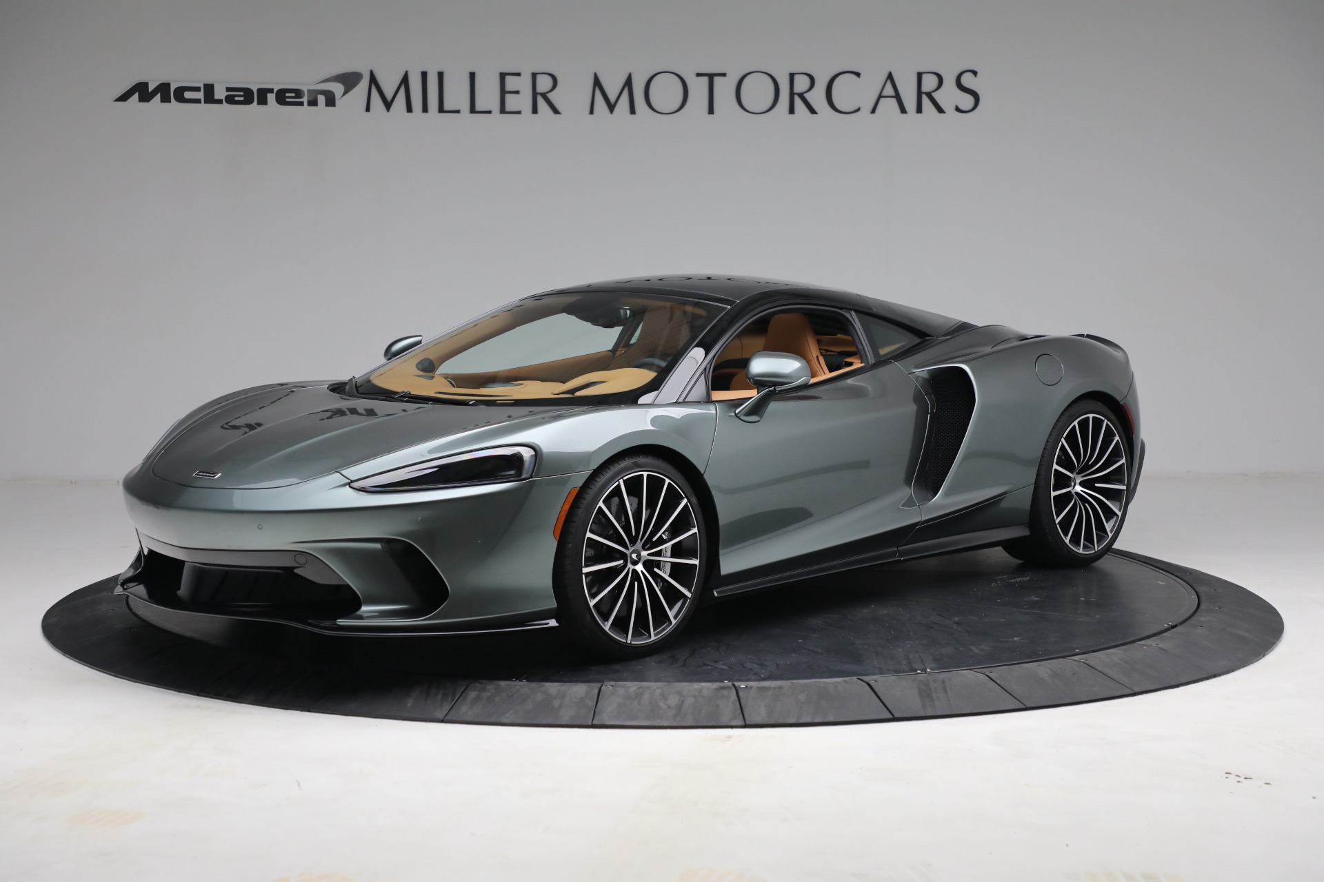 New 2021 McLaren GT LUXE for sale $214,005 at Pagani of Greenwich in Greenwich CT 06830 1