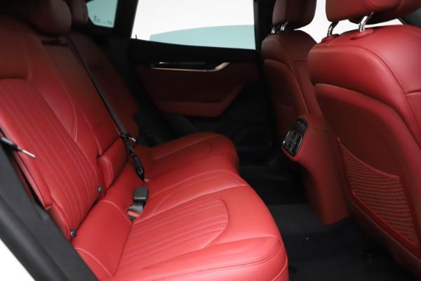 New 2021 Maserati Levante Q4 for sale Call for price at Pagani of Greenwich in Greenwich CT 06830 23