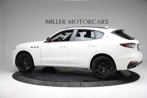 New 2021 Maserati Levante Q4 for sale Call for price at Pagani of Greenwich in Greenwich CT 06830 3