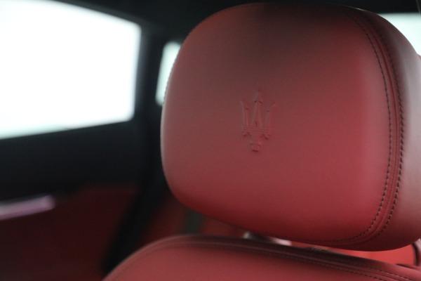 New 2021 Maserati Quattroporte S Q4 for sale $119,589 at Pagani of Greenwich in Greenwich CT 06830 21