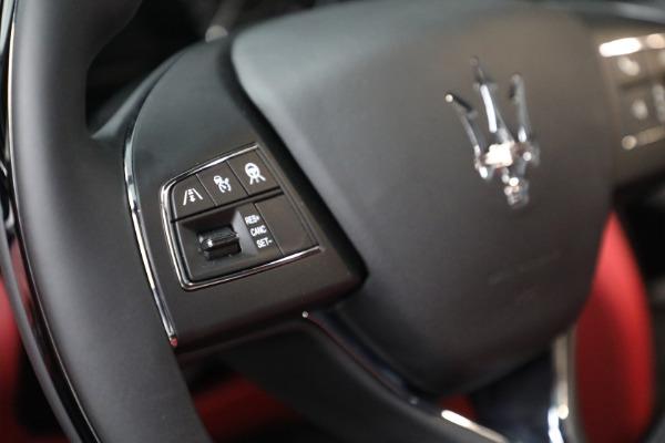 New 2021 Maserati Quattroporte S Q4 for sale $119,589 at Pagani of Greenwich in Greenwich CT 06830 24
