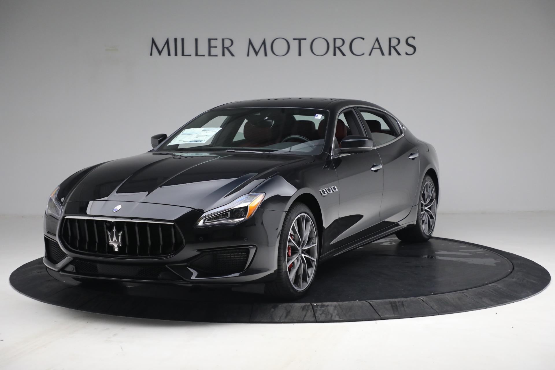 New 2021 Maserati Quattroporte S Q4 for sale $119,589 at Pagani of Greenwich in Greenwich CT 06830 1