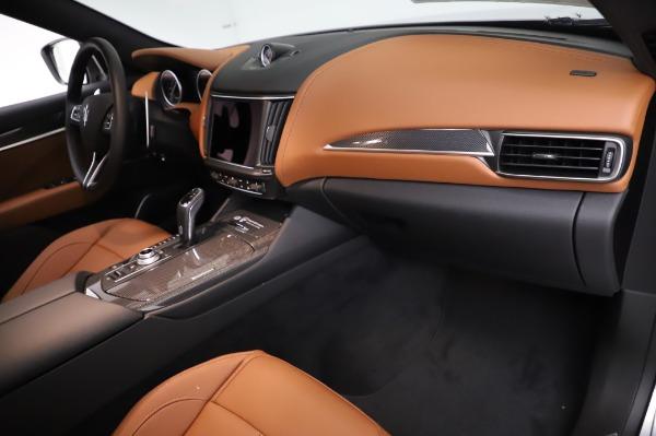 New 2021 Maserati Levante Q4 GranSport for sale $91,385 at Pagani of Greenwich in Greenwich CT 06830 22