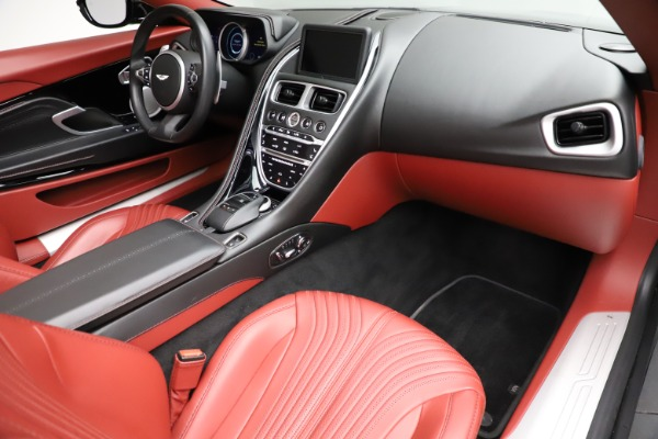 Used 2019 Aston Martin DB11 Volante for sale $211,990 at Pagani of Greenwich in Greenwich CT 06830 18