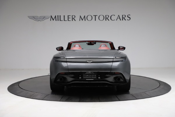 Used 2019 Aston Martin DB11 Volante for sale $211,990 at Pagani of Greenwich in Greenwich CT 06830 5