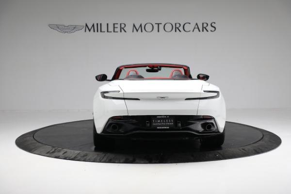 Used 2019 Aston Martin DB11 Volante for sale $209,990 at Pagani of Greenwich in Greenwich CT 06830 5