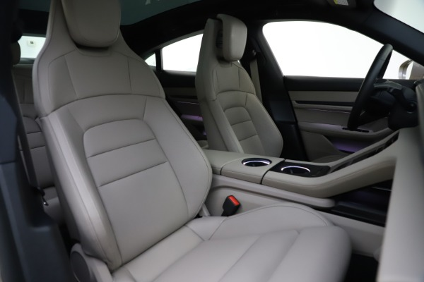 Used 2021 Porsche Taycan 4S for sale Sold at Pagani of Greenwich in Greenwich CT 06830 21