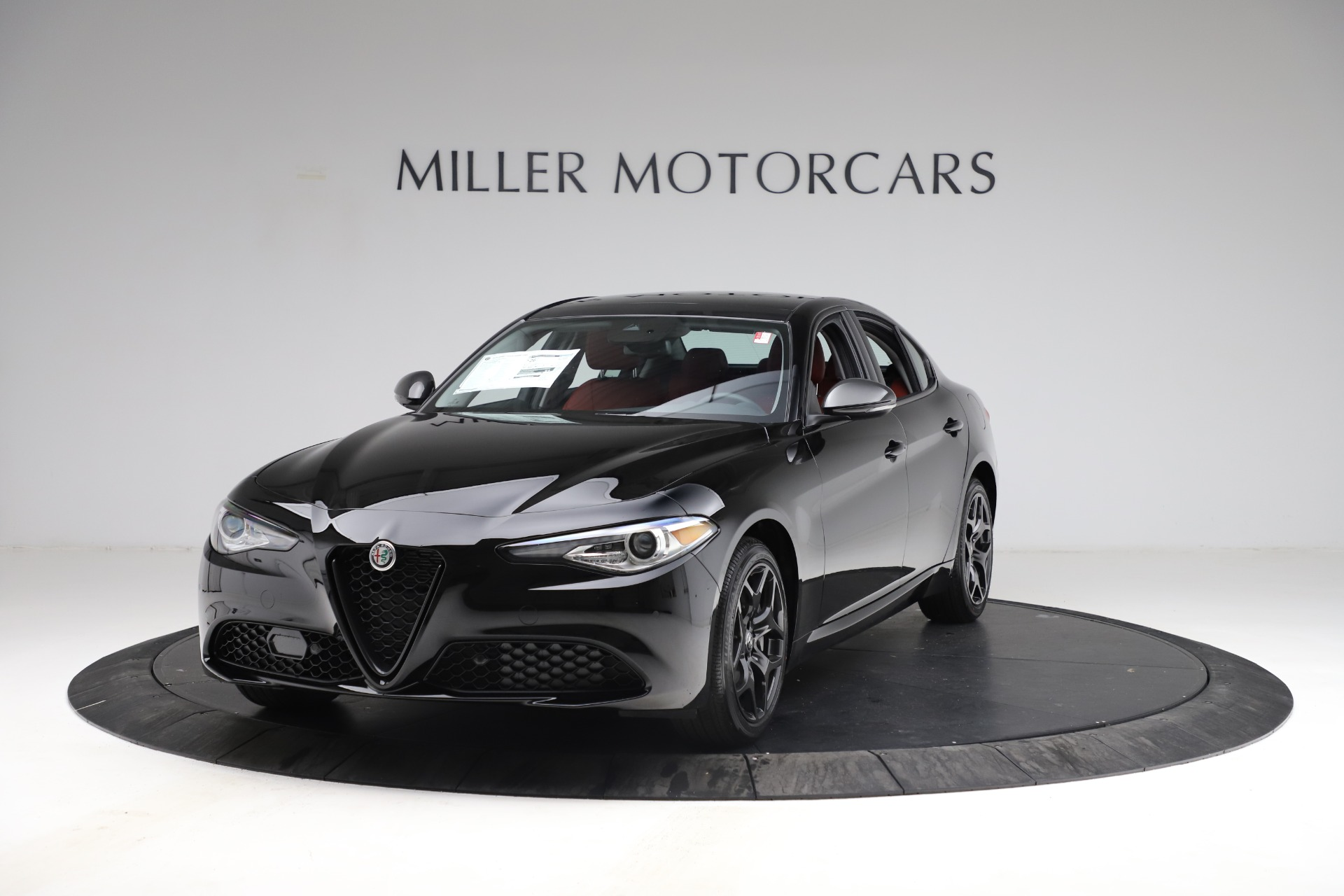 New 2021 Alfa Romeo Giulia Q4 for sale $48,535 at Pagani of Greenwich in Greenwich CT 06830 1