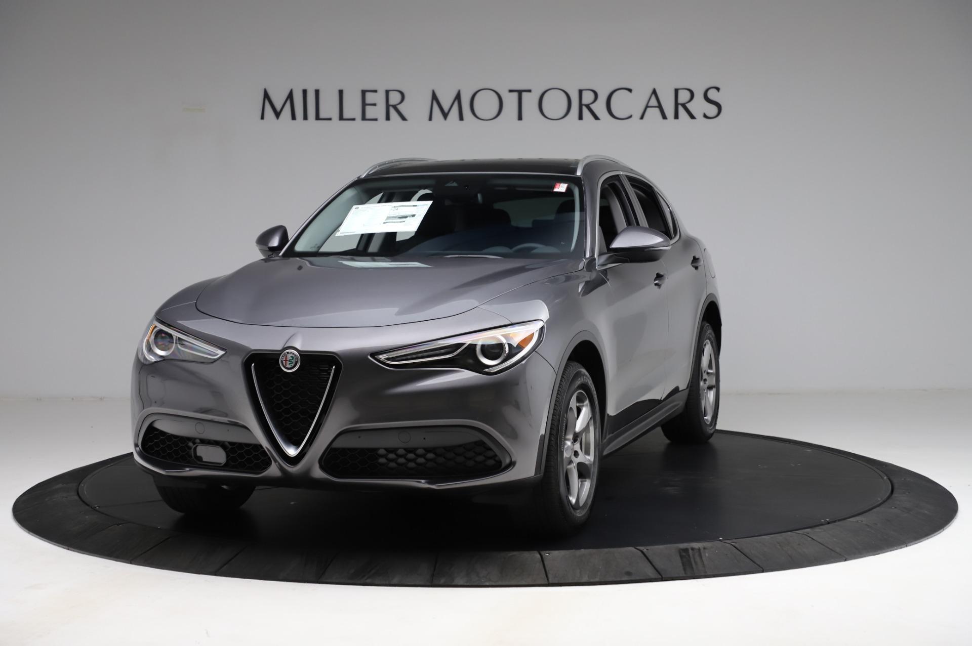 New 2021 Alfa Romeo Stelvio Q4 for sale $48,900 at Pagani of Greenwich in Greenwich CT 06830 1