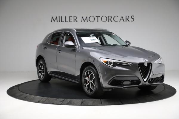 New 2021 Alfa Romeo Stelvio Ti Q4 for sale $55,500 at Pagani of Greenwich in Greenwich CT 06830 12