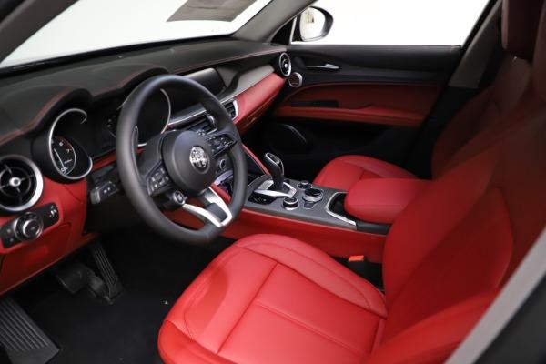 New 2021 Alfa Romeo Stelvio Ti Q4 for sale $55,500 at Pagani of Greenwich in Greenwich CT 06830 14