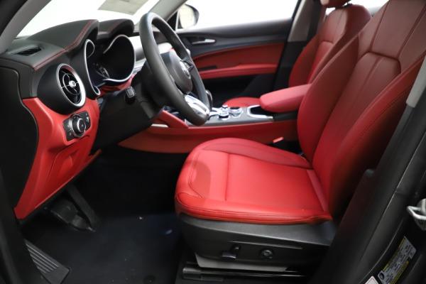 New 2021 Alfa Romeo Stelvio Ti Q4 for sale $55,500 at Pagani of Greenwich in Greenwich CT 06830 16