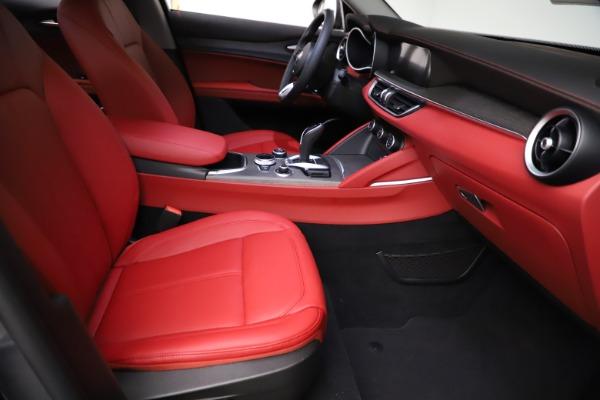 New 2021 Alfa Romeo Stelvio Ti Q4 for sale $55,500 at Pagani of Greenwich in Greenwich CT 06830 22