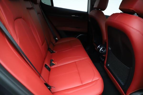New 2021 Alfa Romeo Stelvio Ti Q4 for sale $55,500 at Pagani of Greenwich in Greenwich CT 06830 25