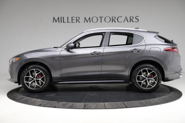New 2021 Alfa Romeo Stelvio Ti Q4 for sale $55,500 at Pagani of Greenwich in Greenwich CT 06830 3