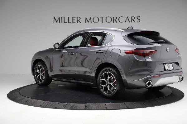 New 2021 Alfa Romeo Stelvio Ti Q4 for sale $55,500 at Pagani of Greenwich in Greenwich CT 06830 5