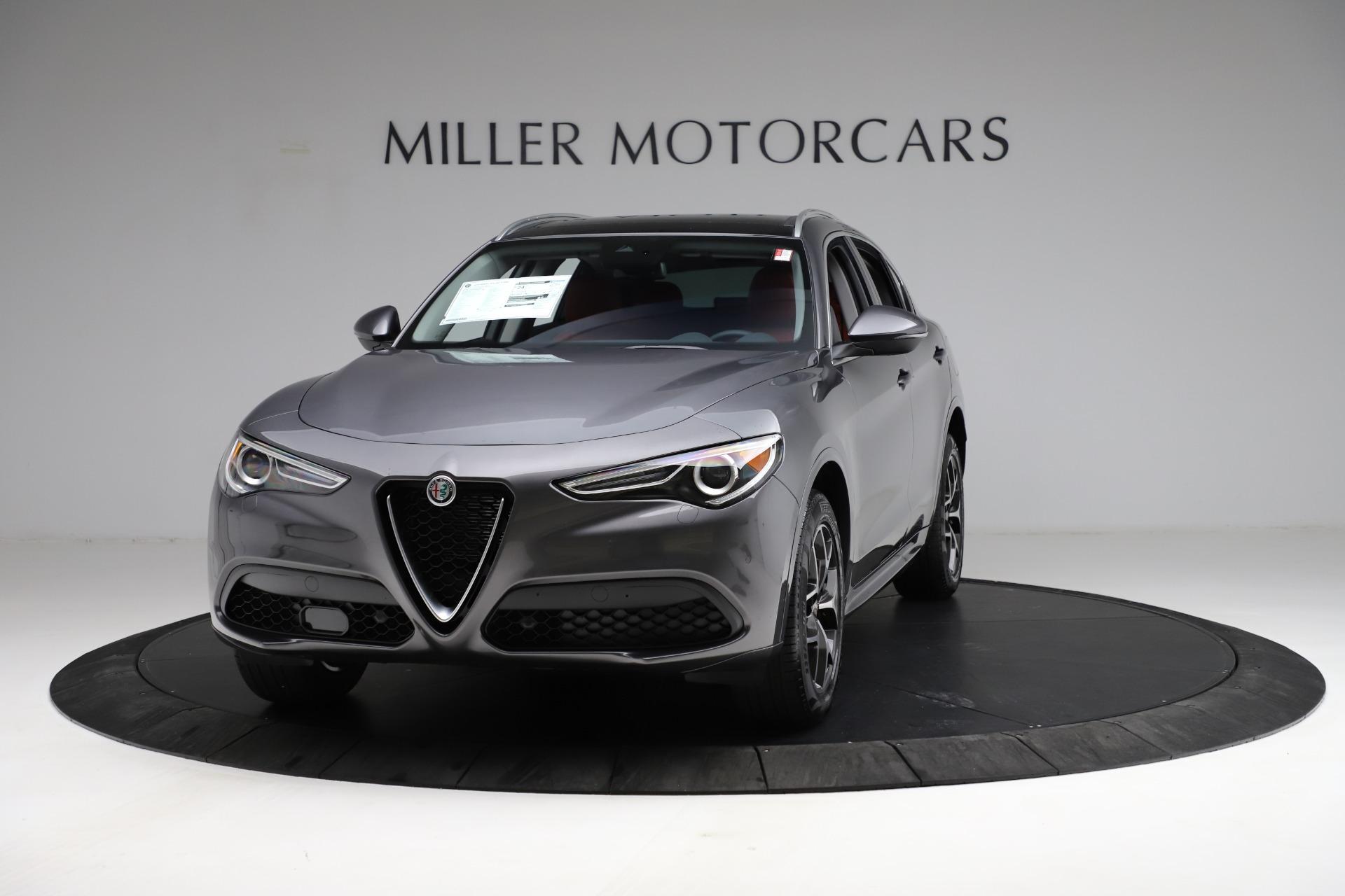 New 2021 Alfa Romeo Stelvio Ti Q4 for sale $55,500 at Pagani of Greenwich in Greenwich CT 06830 1