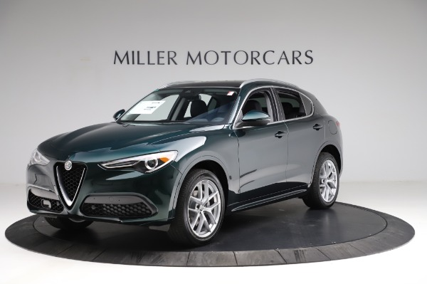 New 2021 Alfa Romeo Stelvio Ti Q4 for sale $53,500 at Pagani of Greenwich in Greenwich CT 06830 2