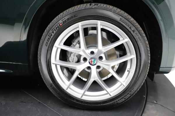 New 2021 Alfa Romeo Stelvio Ti Q4 for sale Sold at Pagani of Greenwich in Greenwich CT 06830 26