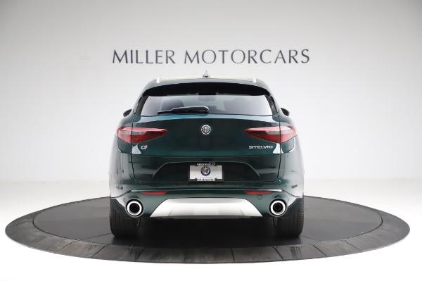 New 2021 Alfa Romeo Stelvio Ti Q4 for sale Sold at Pagani of Greenwich in Greenwich CT 06830 7