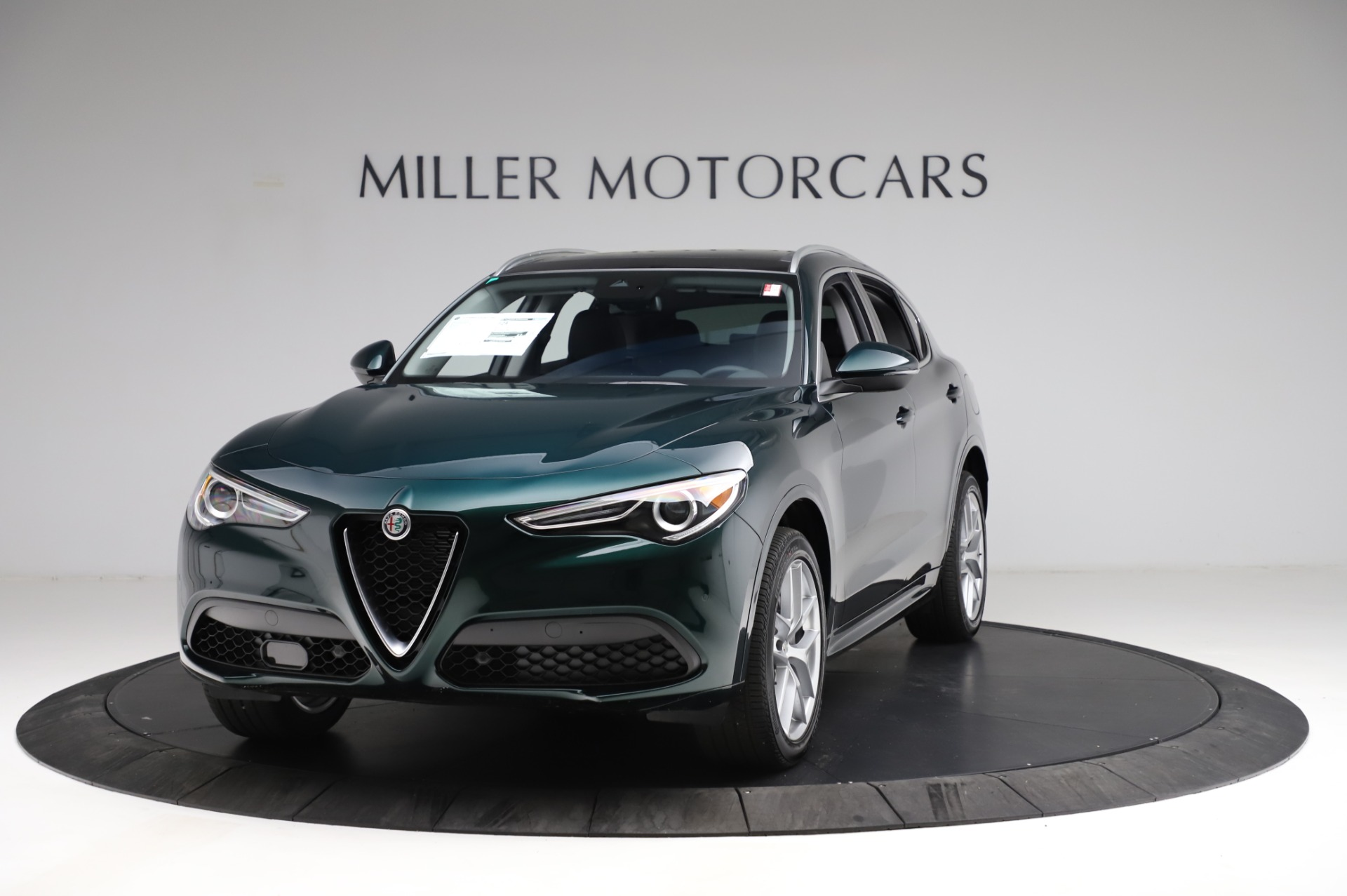 New 2021 Alfa Romeo Stelvio Ti Q4 for sale $53,500 at Pagani of Greenwich in Greenwich CT 06830 1