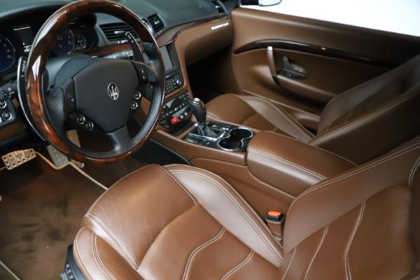 Used 2013 Maserati GranTurismo Sport for sale Sold at Pagani of Greenwich in Greenwich CT 06830 14