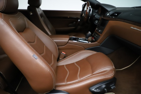 Used 2013 Maserati GranTurismo Sport for sale Sold at Pagani of Greenwich in Greenwich CT 06830 19