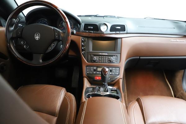 Used 2013 Maserati GranTurismo Sport for sale Sold at Pagani of Greenwich in Greenwich CT 06830 21