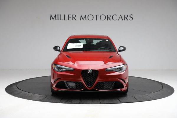 New 2021 Alfa Romeo Giulia Quadrifoglio for sale $83,740 at Pagani of Greenwich in Greenwich CT 06830 10