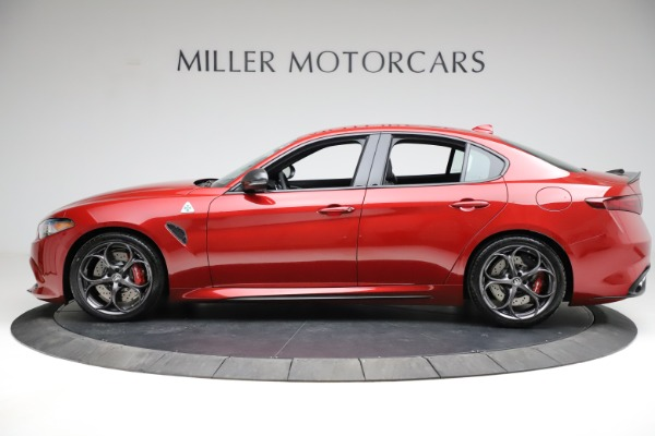 New 2021 Alfa Romeo Giulia Quadrifoglio for sale $83,740 at Pagani of Greenwich in Greenwich CT 06830 2