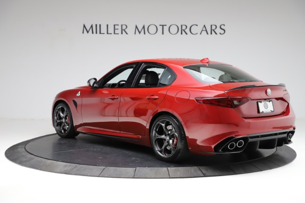 New 2021 Alfa Romeo Giulia Quadrifoglio for sale $83,740 at Pagani of Greenwich in Greenwich CT 06830 3