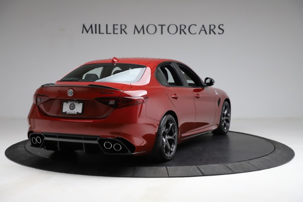 New 2021 Alfa Romeo Giulia Quadrifoglio for sale $83,740 at Pagani of Greenwich in Greenwich CT 06830 5